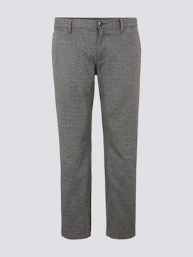 Slim Fit Hose im Hahnentrittmuster - 7 - Men Plus