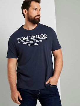 T-Shirt mit Logo-Print - 5 - Tom Tailor E-Shop Kollektion