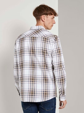 checked Shirt - 2 - TOM TAILOR Denim