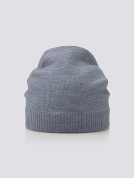Soft knitted hat - 7 - Tom Tailor E-Shop Kollektion