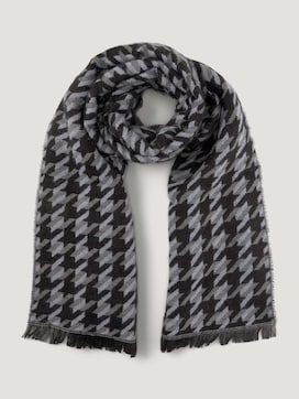 Soft Houndstooth Sjaal - 7 - Mine to five