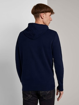 Hoodie mit Denim-Print - 2 - TOM TAILOR Denim