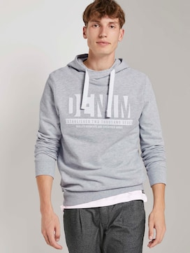 Hoodie mit Denim-Print - 5 - TOM TAILOR Denim