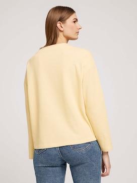 Sweatshirt met biologisch katoen  - 2 - TOM TAILOR Denim