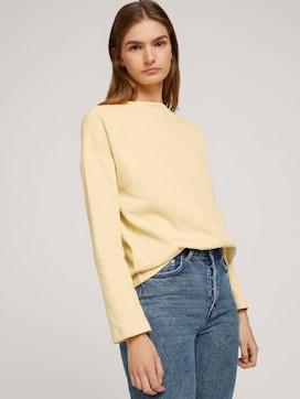 gemütlicher Pullover mit Bio-Baumwolle  - 5 - TOM TAILOR Denim