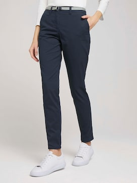 Chino Slim Hose mit Bio-Baumwolle   - 1 - TOM TAILOR