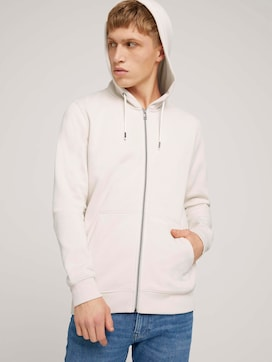 Hooded sweat jacket with a print - 5 - TOM TAILOR Denim
