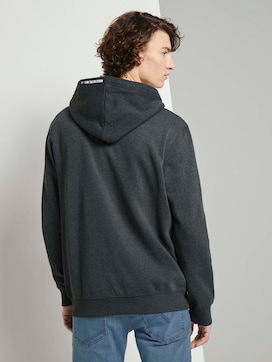 Hooded sweat jacket with a print - 2 - TOM TAILOR Denim