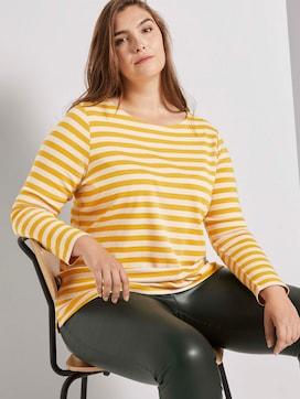 Gestreept overhemd met lange mouwen - 5 - My True Me