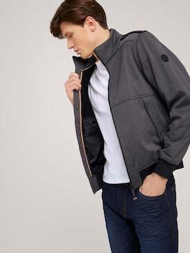 Softshell jas met opstaande kraag - 5 - TOM TAILOR