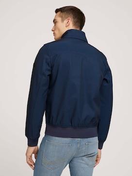 Softshell jas met opstaande kraag - 2 - TOM TAILOR