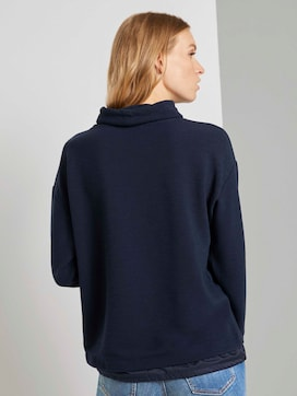 Functioneel sweatshirt met structuur - 2 - TOM TAILOR