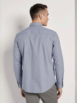 Gemustertes Hemd mit Brusttasche - 2 - TOM TAILOR