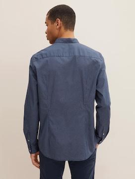 Gemustertes Hemd mit Stretch-Anteil - 2 - TOM TAILOR Denim