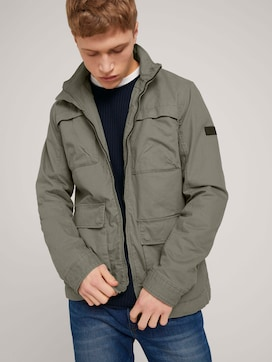 Easy Field Jacket made with organic cotton  - 5 - TOM TAILOR Denim