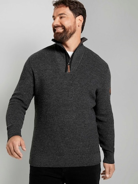 Strickpullover mit Troyerkragen   - 5 - Tom Tailor E-Shop Kollektion