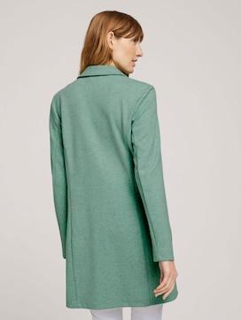 Lange blazer in melange look - 2 - TOM TAILOR