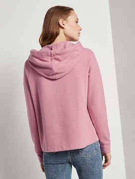 Basic Hoodie mit Nahtdetail - 2 - TOM TAILOR Denim