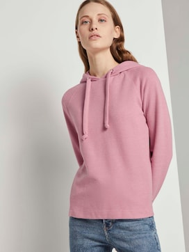 Basic Hoodie mit Nahtdetail - 5 - TOM TAILOR Denim