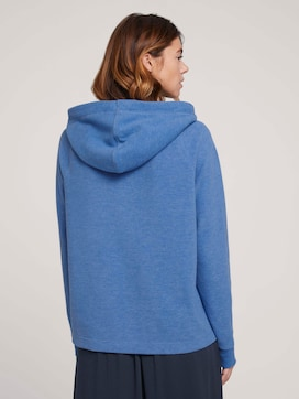 Basic Hoodie met naad detail - 2 - TOM TAILOR Denim