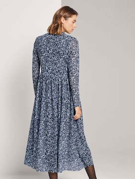 Midi dress with a floral print - 2 - TOM TAILOR Denim