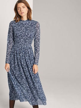 Midi dress with a floral print - 5 - TOM TAILOR Denim