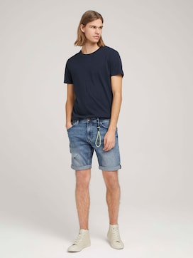 Regular Fit Jeansshorts - 3 - TOM TAILOR Denim