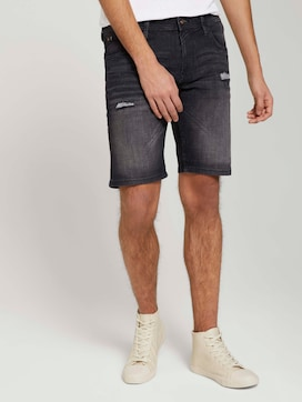 destroyed regular denim shorts - 1 - TOM TAILOR Denim