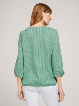 Gestreiftes Shirt mit Bio-Baumwolle  - 2 - TOM TAILOR