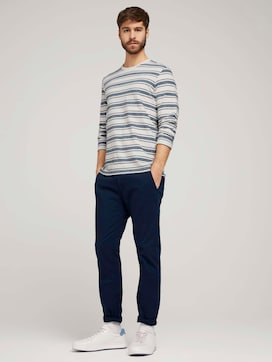 Slanke chino broek - 3 - TOM TAILOR