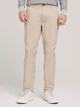 Slanke chino broek - 1 - TOM TAILOR