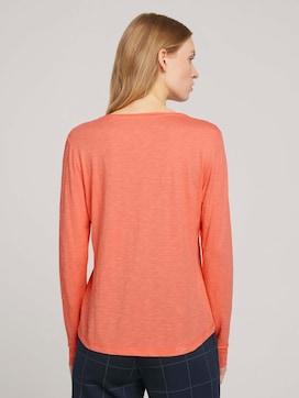 Overhemd met V-hals en lange mouwen - 2 - TOM TAILOR
