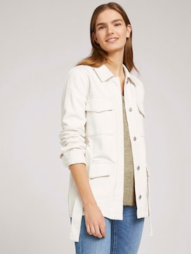 utility denim jacket made with organic cotton   - 5 - TOM TAILOR Denim