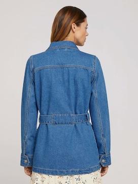 Jeans-Feldjacke mit Gürtel - 2 - TOM TAILOR Denim