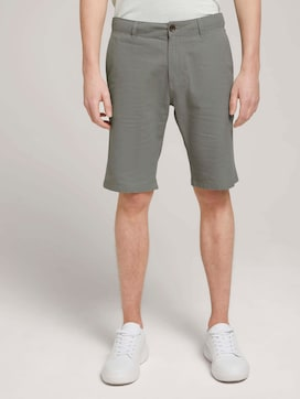 Linnen Chino Slim Short - 1 - TOM TAILOR Denim
