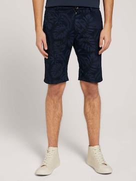 Leinen Chino Slim Shorts mit Leinen - 1 - TOM TAILOR Denim