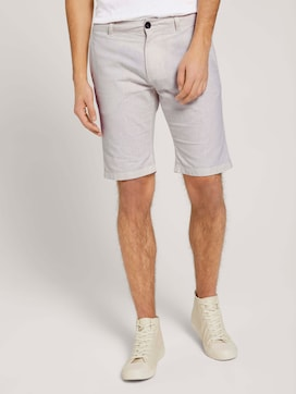 linen chino slim shorts - 1 - TOM TAILOR Denim