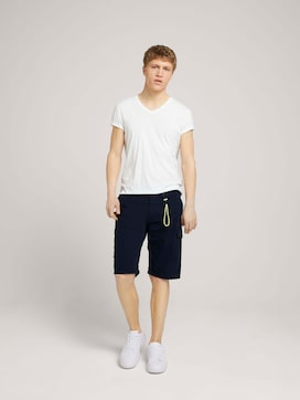 Regular Cargo Shorts - 3 - TOM TAILOR Denim
