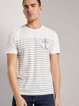 Gestreept Maritiem T-shirt - 5 - TOM TAILOR