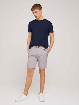 Chino shorts with belt - 3 - TOM TAILOR Denim