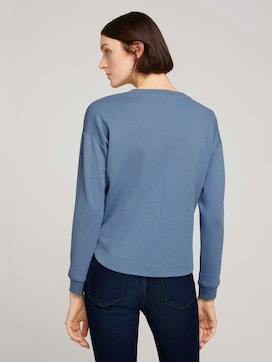 Loose Fit Sweatshirt - 2 - TOM TAILOR Denim