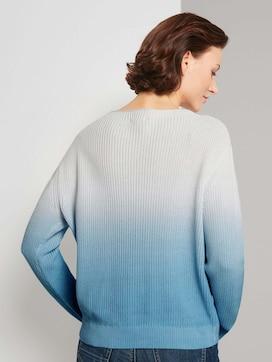Pullover mit Ombre Farbverlauf - 2 - TOM TAILOR