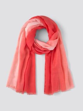 Sjaal met kleurverloop - 7 - TOM TAILOR