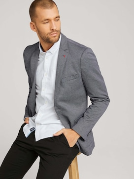 Finely textured smart-casual jacket - 5 - TOM TAILOR
