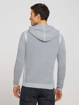strukturierter Hoodie mit Bio-Baumwolle  - 2 - TOM TAILOR