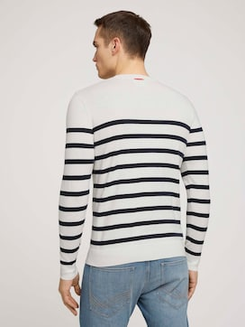 striped sweater made with organic cotton  - 2 - TOM TAILOR
