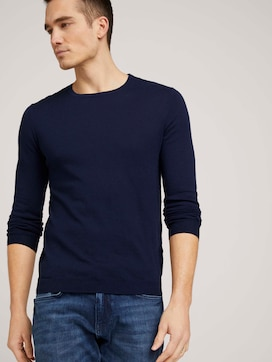 Basic Pullover - 5 - TOM TAILOR