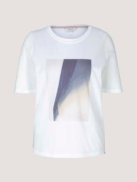 T-Shirt mit Print - 7 - Mine to five