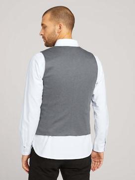 Finely textured vest - 2 - TOM TAILOR
