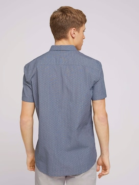 gemustertes Hemd aus Bio-Baumwolle - 2 - TOM TAILOR Denim